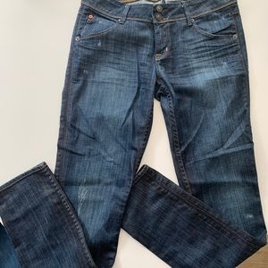 Hudson dark wash skinny jeans size 29